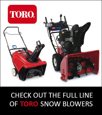 Toro Snow blowers Harrow Ontario