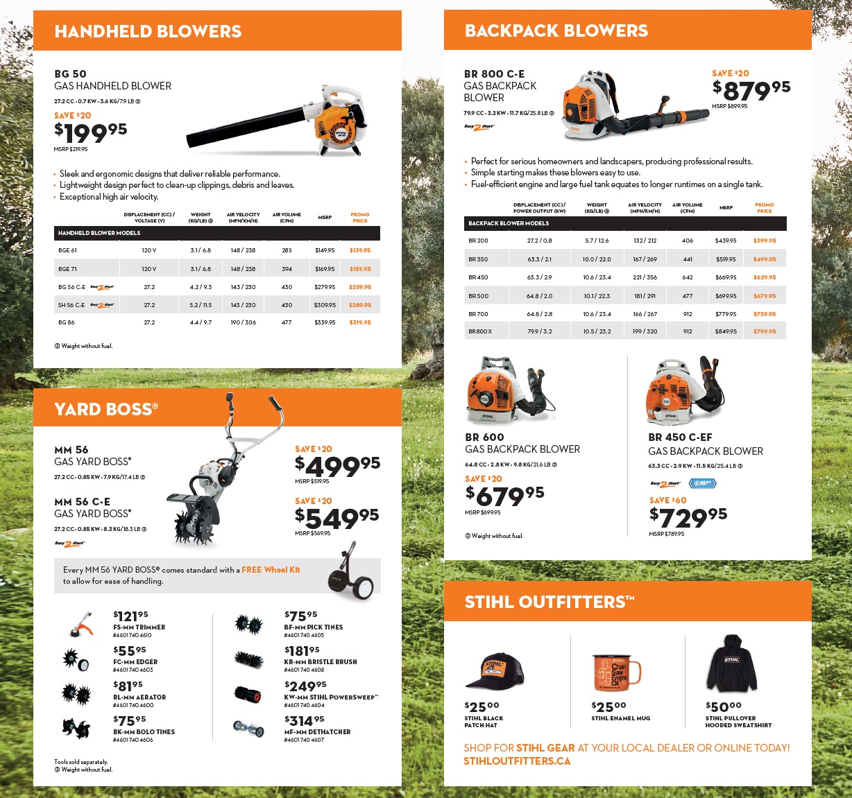 Stihl Authorized Dealer, Harrow, On