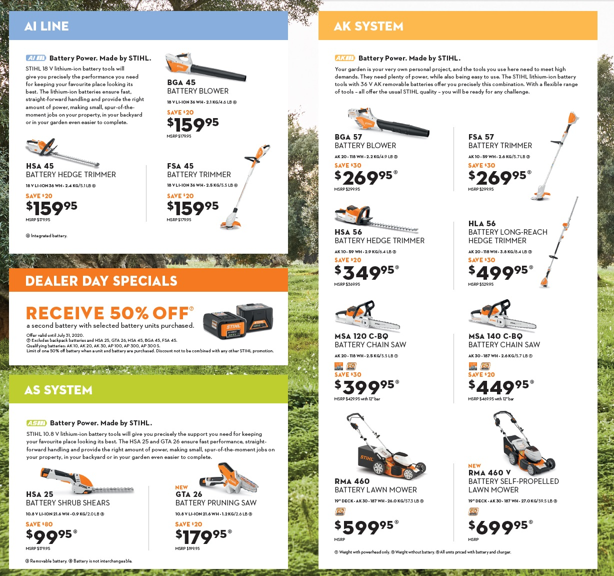 Stihl Chainsaw Sale, Harrow, On.