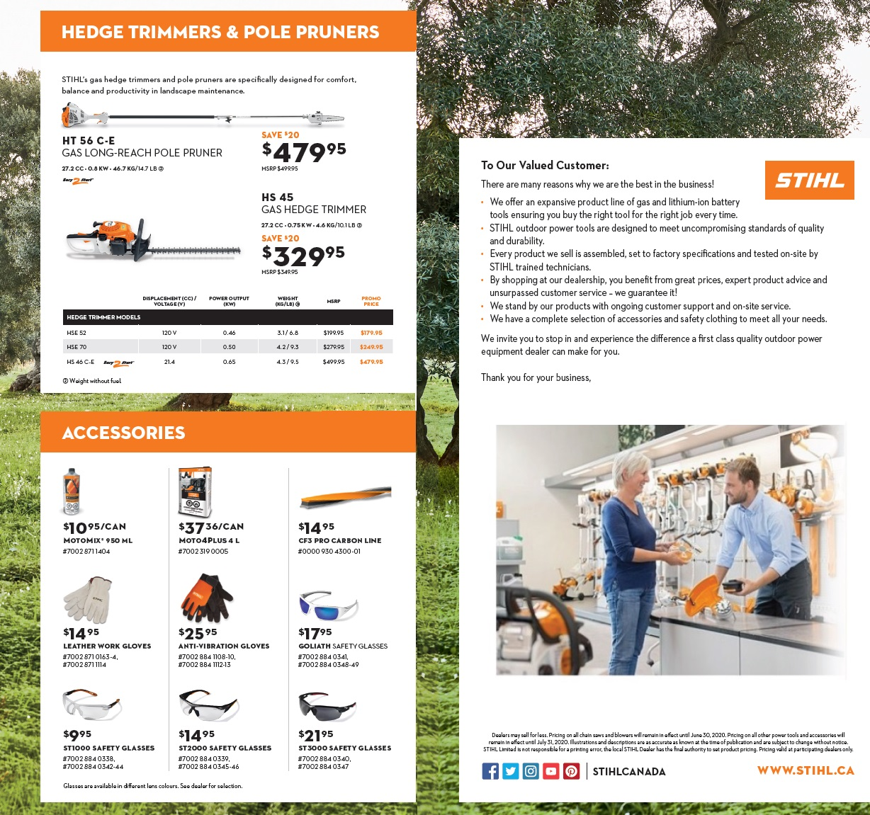 Stihl Trimmers and Pruners, Harrow, On